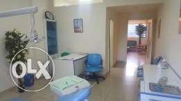 fully equipped dental clinic in a prime location