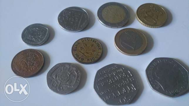 Euro Pence Rand Pfennig from 1949 and up