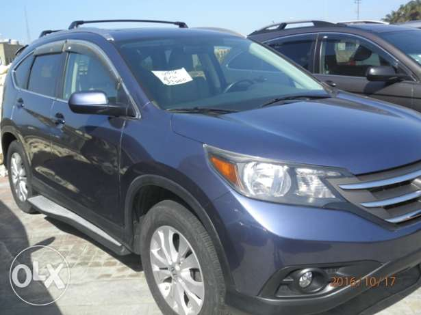 Honda CRV EXL 2012 dark blue clean كسروان -  1