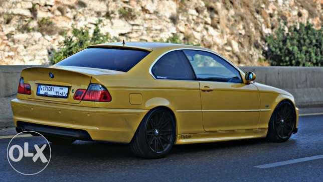 E46 328 coupe yellow for sale