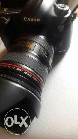 Canon L lens comes with 5Diii
