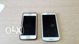 Samsung s2 + samsung s3 For sale