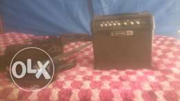 Xcort - X1 electric guitar & Line 6 spider IV 15 - 15 watt amplifier