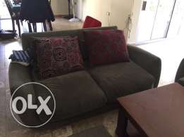 Two sofas in excellent condition