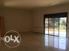 Brand new apartment for rent in Baabdat with mountain view