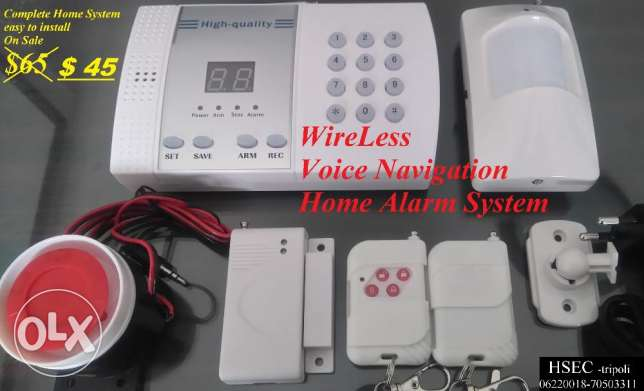 Alarm Systems for Homes & Offices. Special Offer : $45