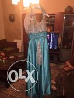 evening dress used once bought for 900$