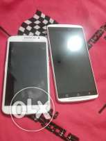 Samsung galaxy grand 2 and Lenovo k4 note white colors for sale 300