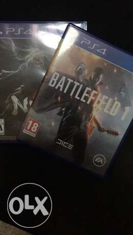80$ Nioh and Battlefield 1 with Fifa 15