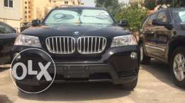 2011 BMW X3 Black on black clean carfax