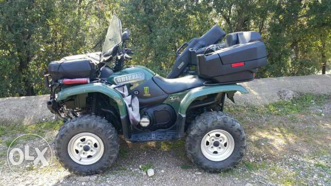 yamaha grizzly 660 CC fully equiped