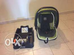 car seat with base 0 - 15 kg positions variables