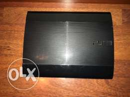 Ps3 6 month used with 2 joysticks and 2 cds