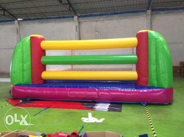 Boxing Ring Inflatable Gonflable Game ألعاب نفخ