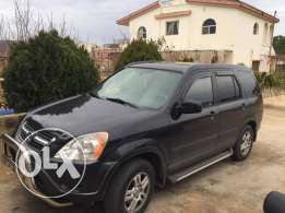 crv model 2002 ,black color ,4 wheel for sale ,very clean