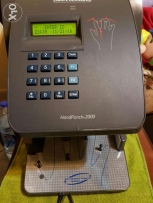 Hand punch 2000 biometric employees time management