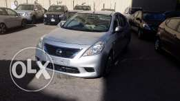 nissan sunny 2014 silver