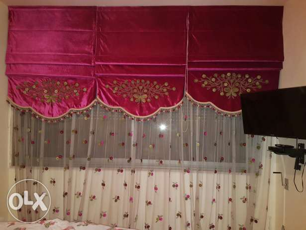 New curtain for kids bed room