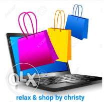 Relax & shop by christy