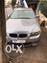 Bmw 520i model 2004 look M5 big screen and leather seats