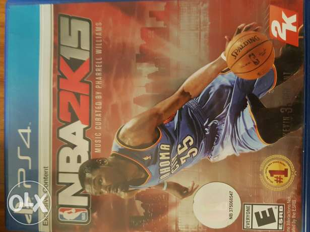 NBA 2k15 for ps4 like new