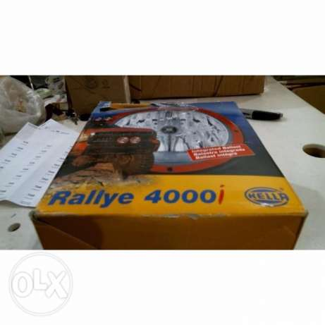 HELLA Rallye 4000i XENON light