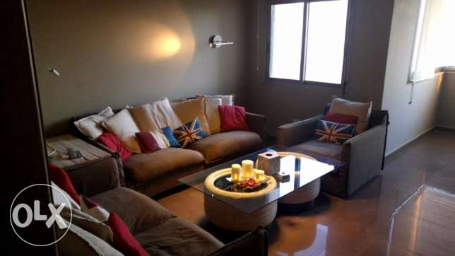 Decorated apartment for sale in Antelias / Antelies ( sea view )