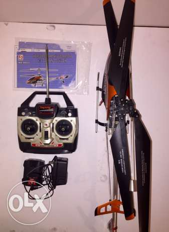 RC helicopter volitation