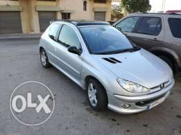 sport peugeot 206(RC)trade is available
