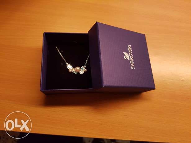 Swarovski necklace - brand new