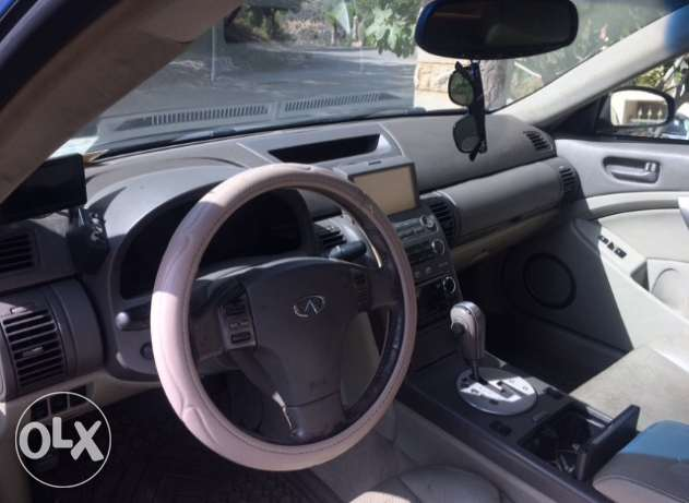 infinity g35 coupe mod 2003 technology verry clean car. الشوف -  8