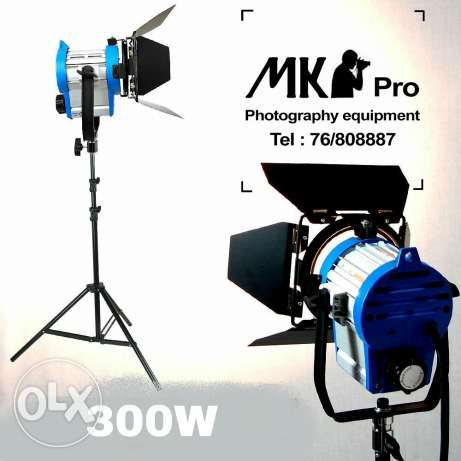 300W Pro Film Lighting Fresnel Tungsten Spot