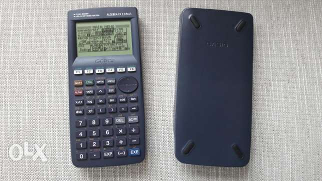 Calculator casio algebra fx
