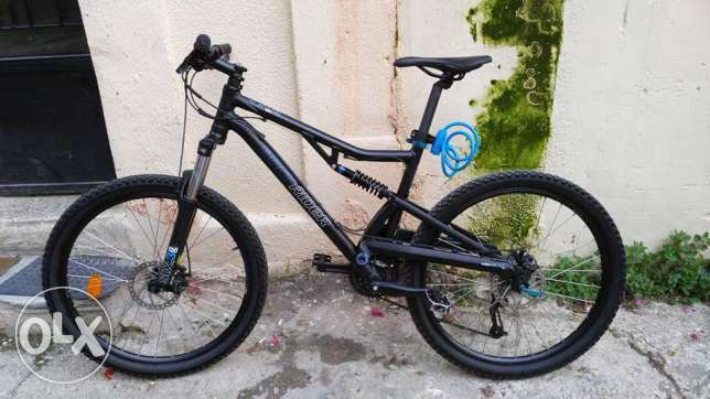 Btwin mountain bike RockRider full suspension