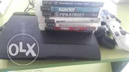 2 controller the games are in pic good condition