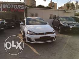 VW Golf VII GTI 2014 Black Top of the Line in Showroom Condition!