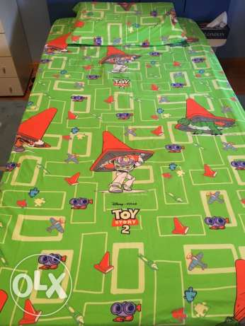 toy story 2pcs. bed set , sheet & pillow case