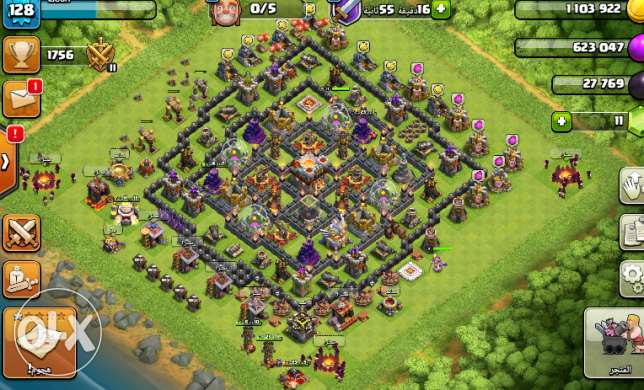 clach of clans account for sale