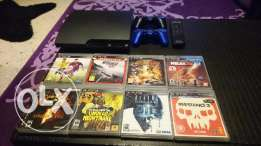Excellent condition PS3 barely used