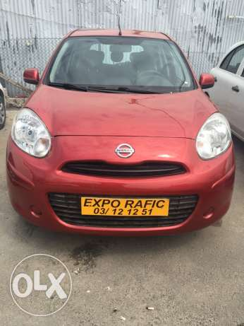 Nissan micra 2012 fulloption