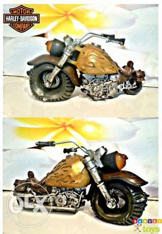 Vintage Harley Davidson resin motorcycle for decoration for only 16$