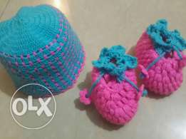 Baby set 2 pcs handmade 25000