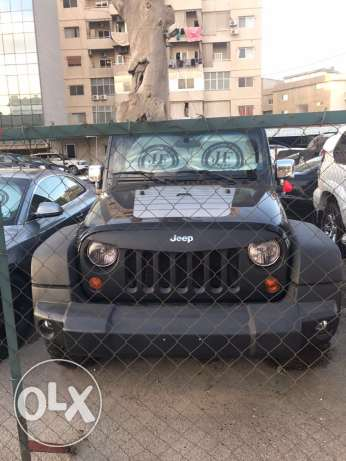 Jeep Wrangler 2008 black X unlimited sport