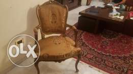 2 pieces of style chairs