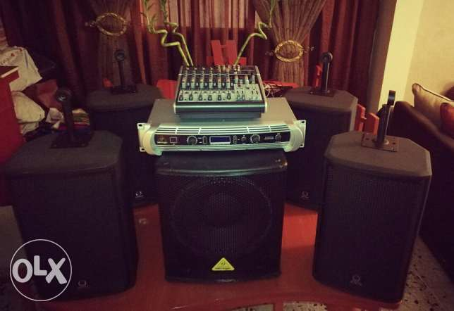 For sale Sound system ( Behringer)