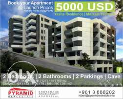 Apartment for sale In Mazraat Yachouaa