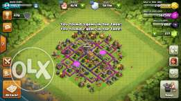 Clash of clans th7 (90% max)