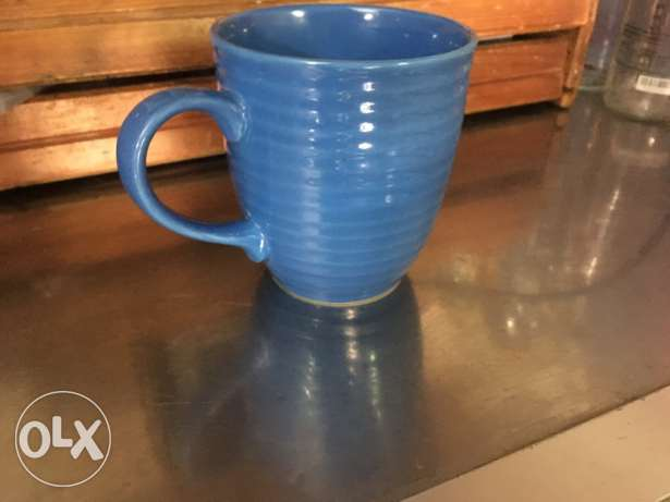 9 blue mugs for cheap sale انطلياس -  1