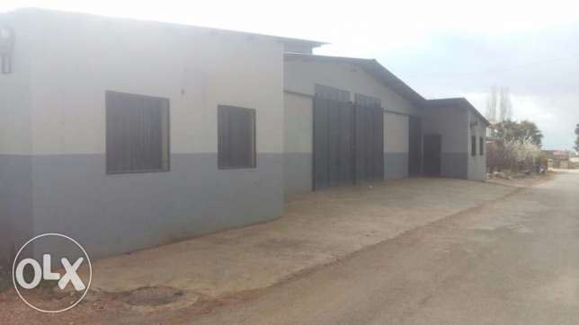 Hangar in Anjar for Rent
