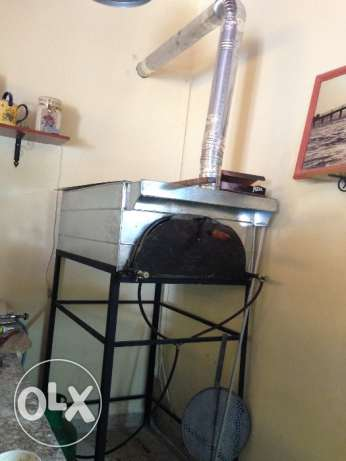 Gas Oven pizza new فرن مناقيش بيتزا